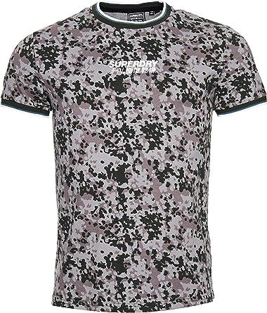 Superdry Camo Air tee Camisa para Hombre