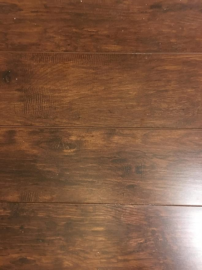 Trafficmaster Alameda Hickory 7 Mm Thick X 3 4 In Wide 50 5 8 Length Laminate Flooring 24 52 Sq Ft Case Com