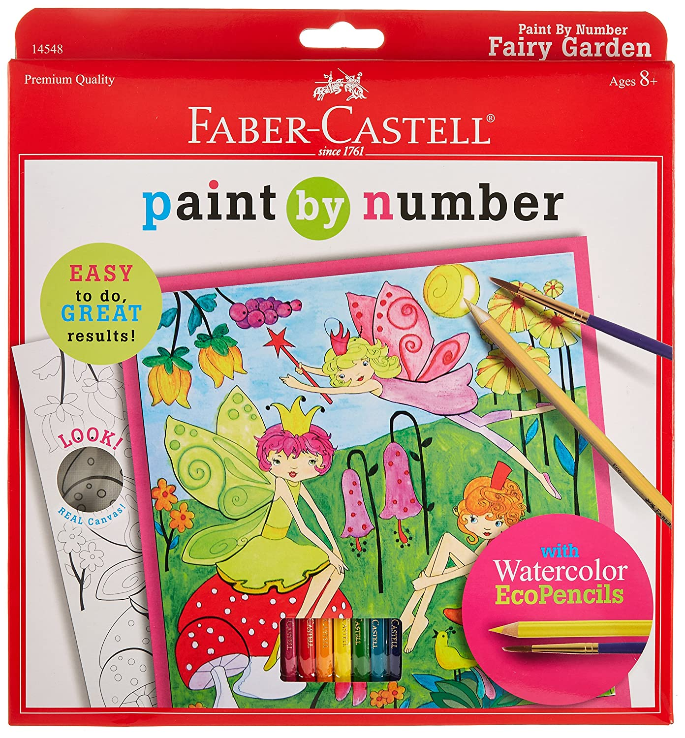 Faber Castell Paint by Number Mermaids 14578