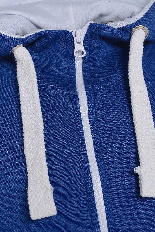 Kinder Jungen M/ädchen Unisex Plain Strampler mit Kapuze In einem Jumpsuit Gr/ö/ßen 7-14 Jahre Black /& grau