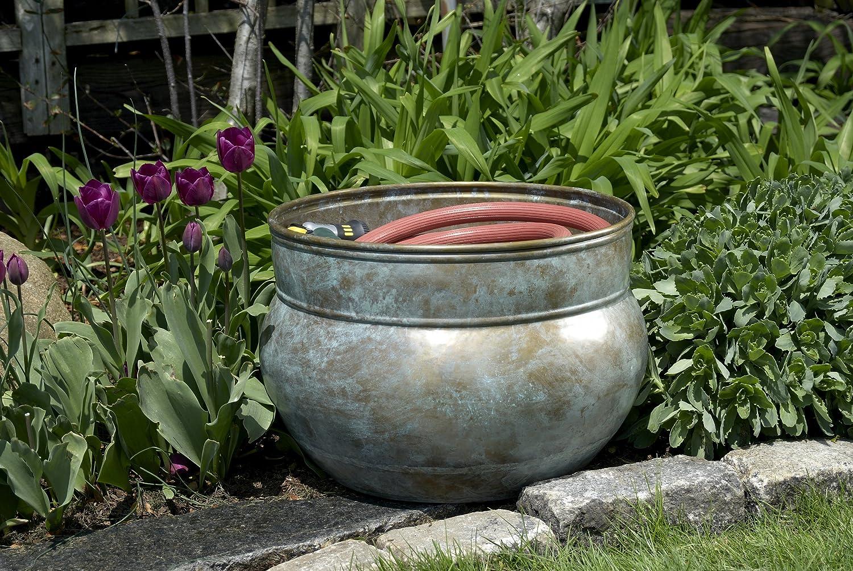 Amazon.com : Good Directions 448B Sonoma Hose Pot, Holds Up To 150 Feet Of  Hose, Brass : Garden Hose Parts : Garden U0026 Outdoor