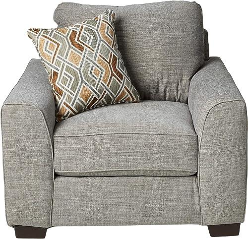 Elle Decor Jolie Swivel Chair Lounge, Blush Pink