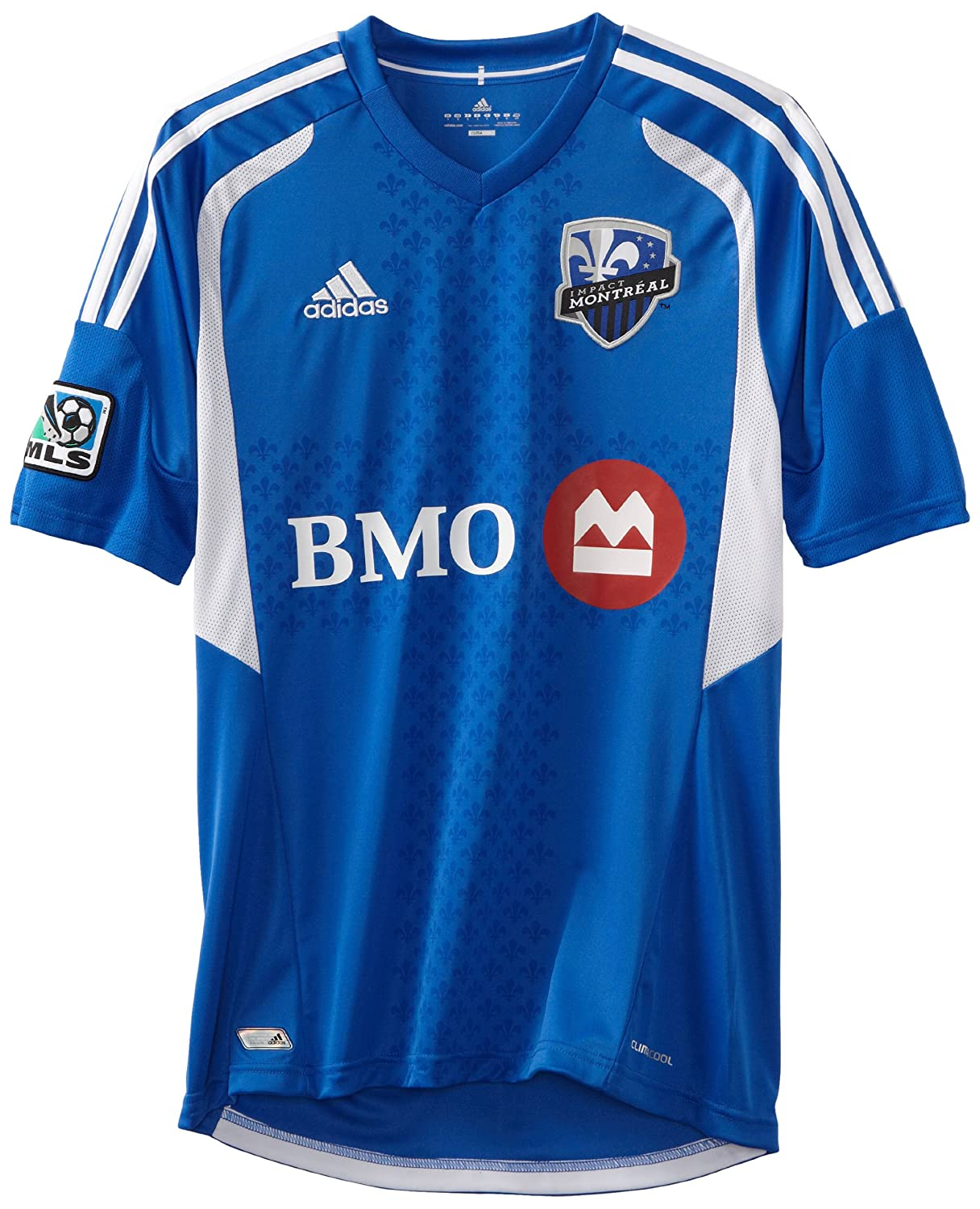 brand new eb708 6c56c Amazon.com : MLS Montreal Impact Replica Home Jersey, Medium ...