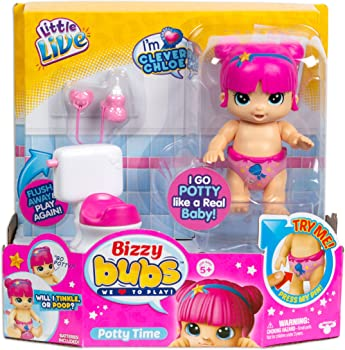 Little Live Bizzy Bubs Season Baby Playset (Potty Time)