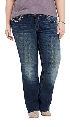 abfa21ec1a0 maurices Women s Plus Size Vigoss Dark Wash Bootcut Jean 14 Dark Sandblast