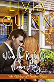 When the Right One Comes Along: A small town romance (Calloways of Rainbow Bayou Book 1)