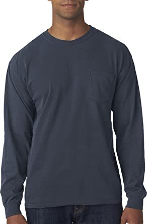 c19dc4df Amazon.com: Comfort Colors Chouinard Men's Heavyweight Chest Pocket ...