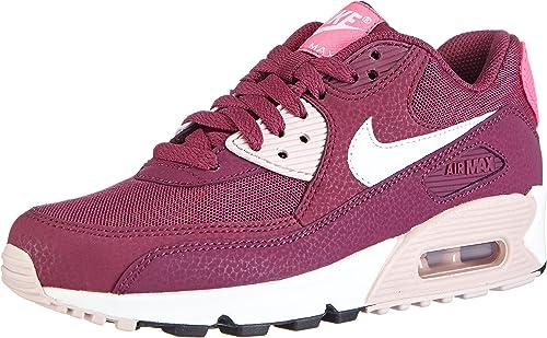 Nike Air Max 90 Essential, Chaussures Femme, Villain Red