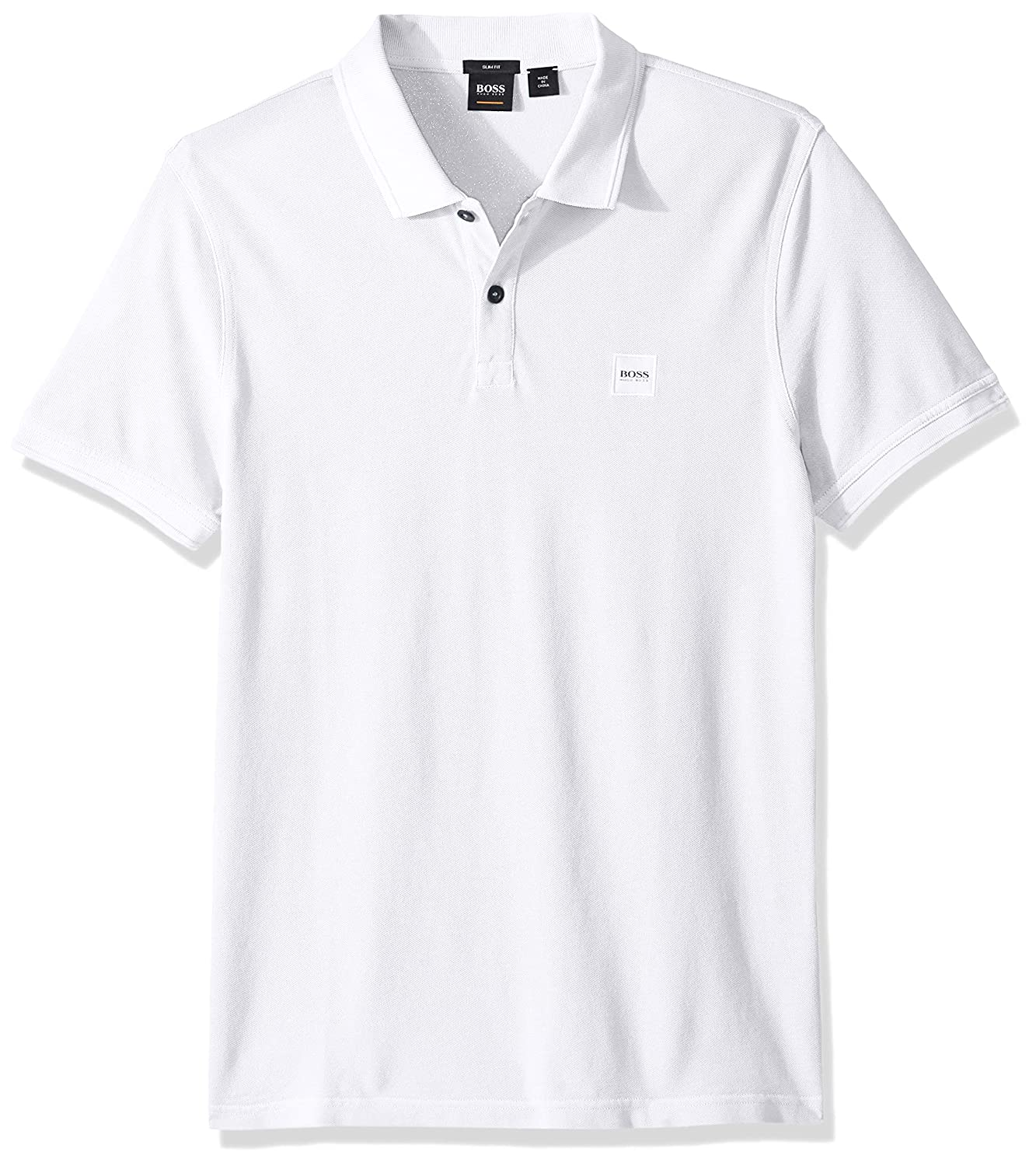 8b8be7ae73b Amazon.com  Hugo Boss Men s Prime Slim Fit Short Sleeve Polo T-Shirt   Clothing