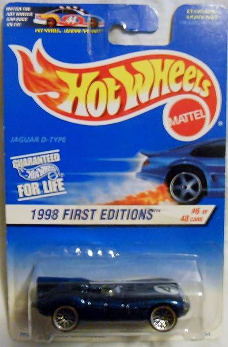 Jaguar Blue Card >> Amazon Com Hot Wheels 1998 638 First Edition Blue Card 6 Of 48