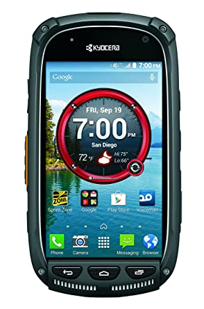 Amazon.com: Kyocera Torque XT, Black 20GB (Sprint): Cell Phones ...