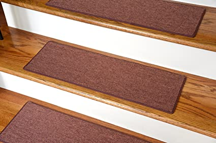 Dean Non Slip Tape Free Pet Friendly DIY Carpet Stair Treads/Rugs 27u0026quot;