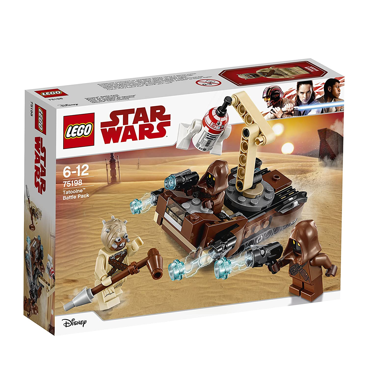 LEGO Star Wars - Battle Pack Tatooine - 75198 - Jeu de Construction