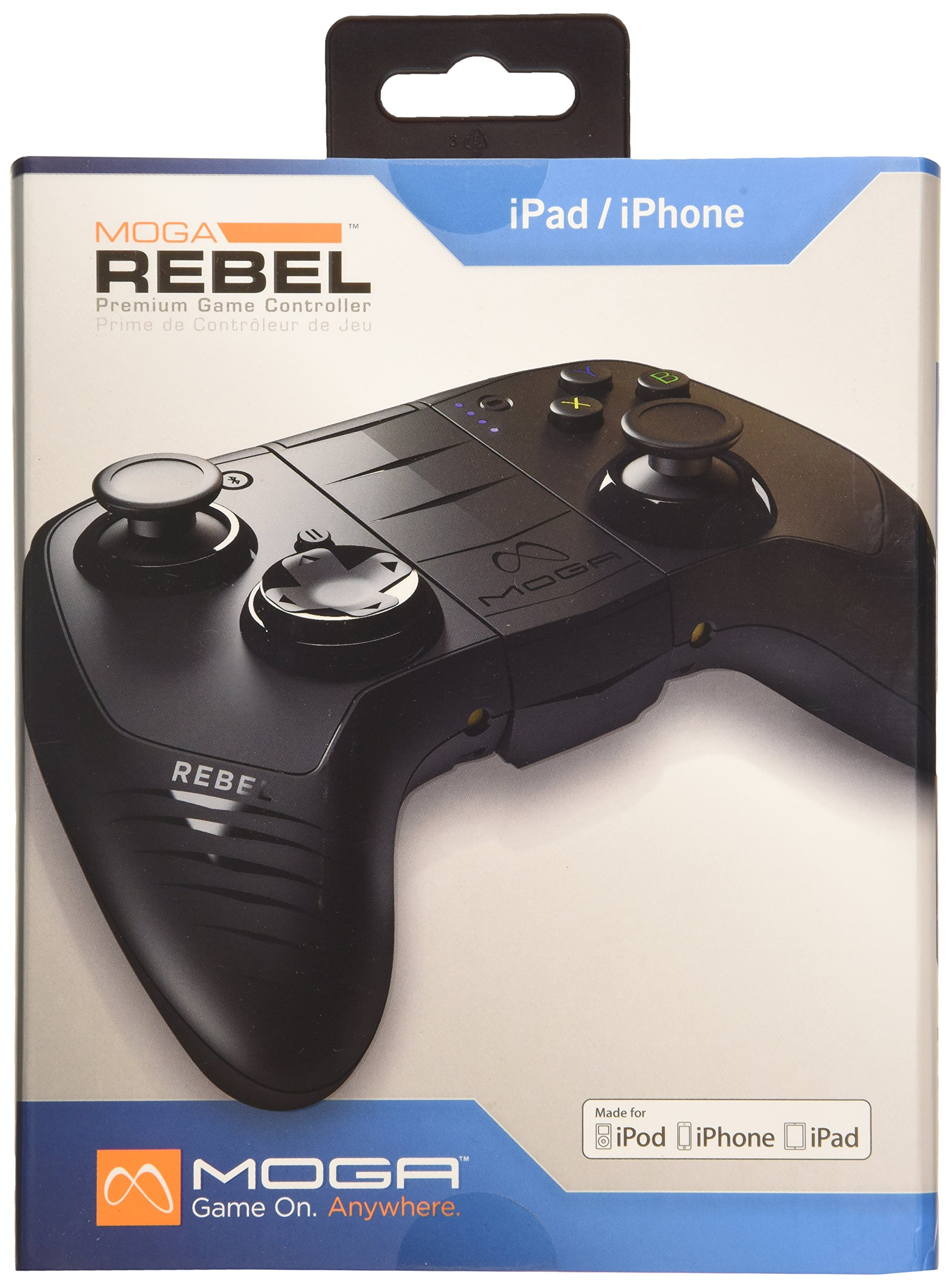 MOGA Rebel Premium iOS Gaming Controller - iPhone/iPad/iPod (Mac)