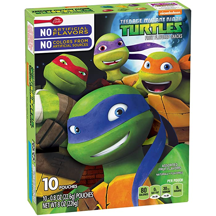 Top 9 Teenage Mutant Ninja Turtles Snack