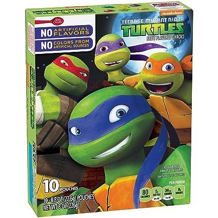 Betty Crocker Fruit Snacks, Teenage Mutant Ninja Turtles ...