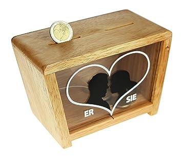 Amazon De Magische Geschenkbox Spardose Zur Hochzeit Fur Sie Ihn