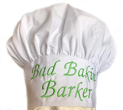 632994792 CHEFSKIN Personalized Chef Hat Custom Name - Size - Color - Font - Thread -  Beautiful Makes a Great Gift Kids Child Adult