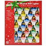 Holiday Essence Musical Christmas Bell Light
