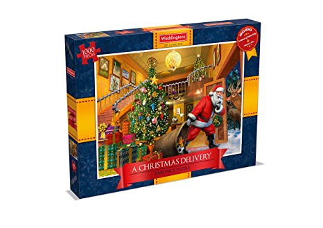 a christmas delivery waddingtons 2016 christmas 1000 piece jigsaw puzzle waddingtons - Amazon Christmas Delivery