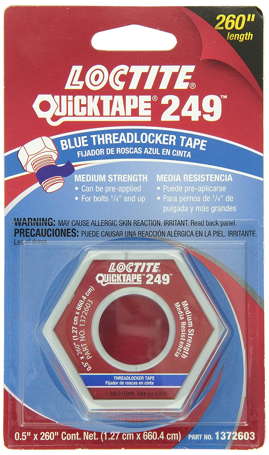 Loctite 1372603 Blue Thread Locker Tape