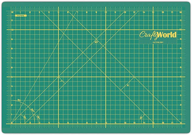 Crafty World Self Healing Cutting Mat For Sewing