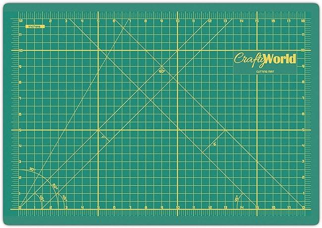 Crafty World Self Healing Cutting Mat For Sewing