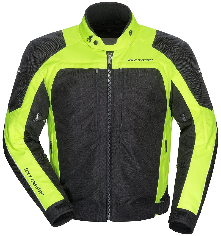 Black, XXX-Large TourMaster Mens Pivot Textile Touring Motorcycle Jacket