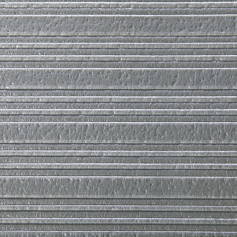 Crown Ribbed Antifatigue Mat, Vinyl, 27 x 36, Gray