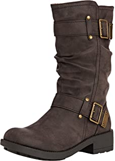 Terry, Bottes Motardes Femme, Marron (Brown Brown), 37 EURocket Dog
