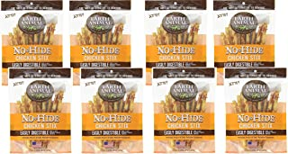 "product image for Earth Animal 8 Pack of No-Hide 4.5"" Chicken Stix Dog Treats, 10 Per Bag"
