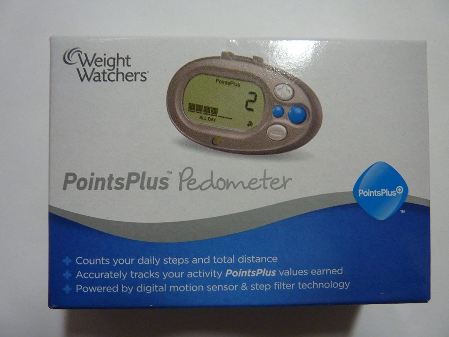 Weight Watchers Points Plus New 2012 Pedometer with Motion Sensor NEW by Weight Watchers