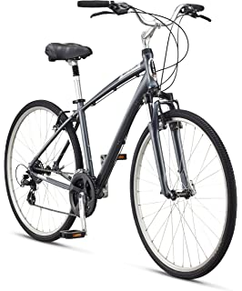 cfdd6fcd56d Amazon.com : Schwinn Men's Voyager 2 700C Wheels Hybrid Bicycle ...