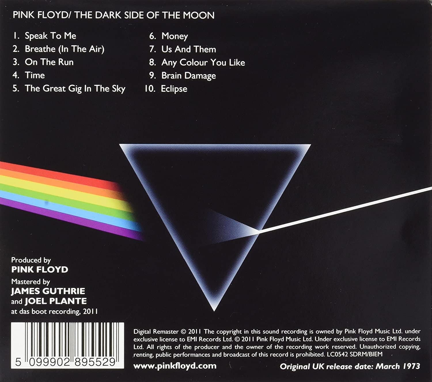 a rhetorical analysis of pink floyds the dark side of the moon When founding member syd barrett left pink floyd in the dark side of the moon reinventing pink floyd charts the creative astute and entertaining analysis.