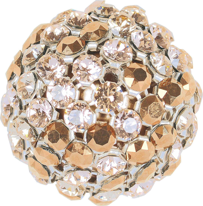 Cristales de Swarovski 5040059 Crystal Mesh Balls 40519 082SIMU 001RGPRL 1 082, 6 Piezas