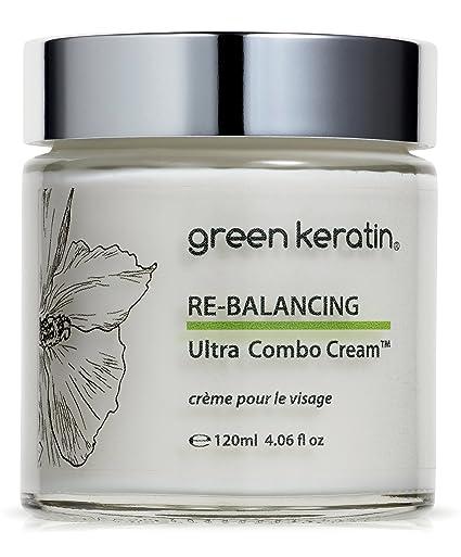 Verde queratina re-balancing Ultra Combo crema || sandía, jojoba, planta SQUALANE