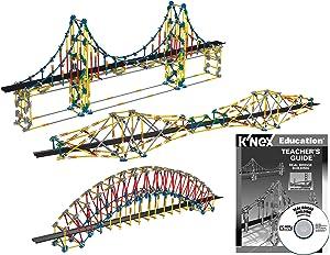 K'NEX Education – Real Bridge Building Set – 2304 Pieces – Ages 10+ Construction Educational Toy