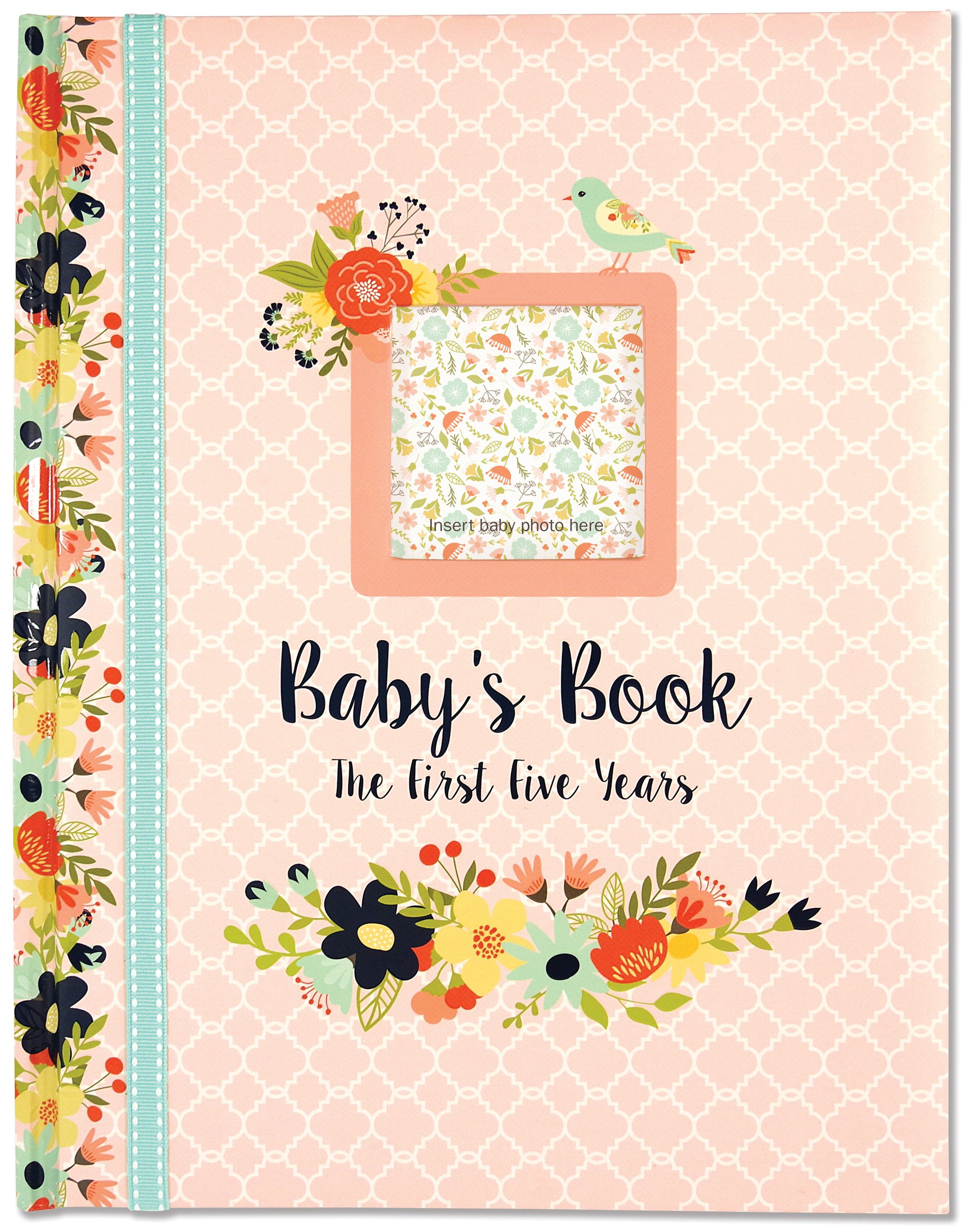 Read Online Baby's Book: The First Five Years (Floral design) ebook