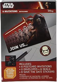 amazon com amscan star wars rebels birthday party postcard