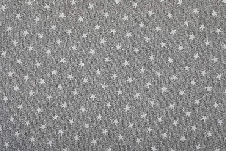 Tessuto di Tela Cerata Grigio con Stelline Tappetino per Seggiolone Facile da Pulire Messy Me Protegge le Superfici durante i Pasti o i Giochi dei Bambini