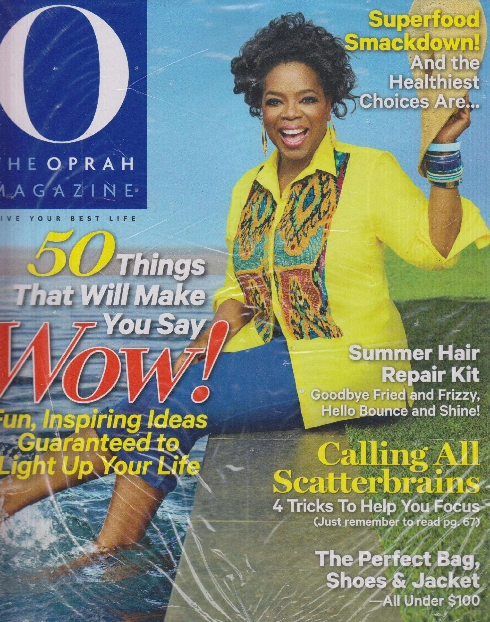 Download O, August 2013, Volume 14, Number 8 (50 Things That Will Make You Say Wow! Fun, Inspiring Ideas Guaranteed to Light up Your Life) ebook