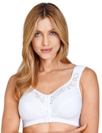 d49990d075d Amazon.com  Miss Mary Of Sweden Soft Cup Bra with Front Closure  Clothing