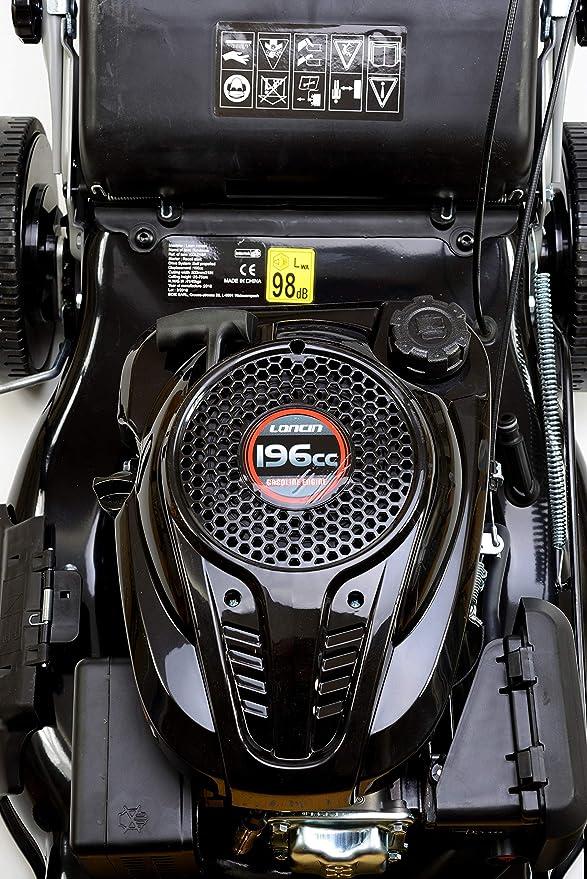 Varan Motors KCL21SP - Cortacésped con Motor de tracción Loncin ...
