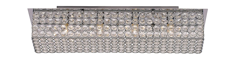 Polished Chrome Trans Globe Lighting MDN-1223 Indoor Monarch 24.75 Vanity Bar