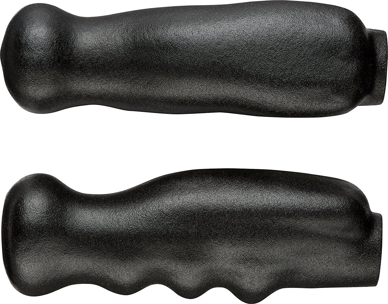 Thomas Fetterman Performance Gel Filled Crutch/Cane Hand Grips, Black, Pair