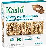 Kashi Coconut Cashew Macaroon Chewy Granola Nut Butter Bars, 6.2 Ounce