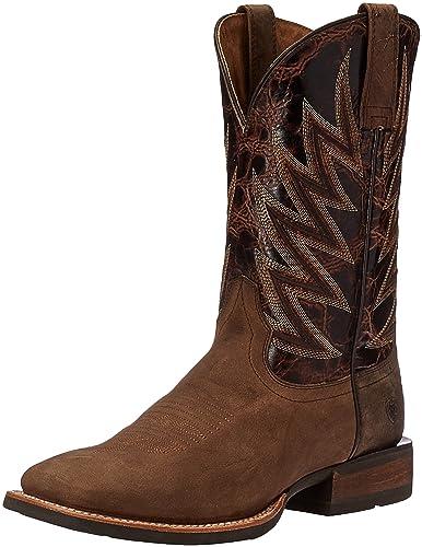 Ariat Men's Challenger Western Cowboy Boot, Branding Iron Brown/Brindle, ...