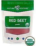 Nature Restore Organic Beet Root Powder, Non-GMO (8 ounces)