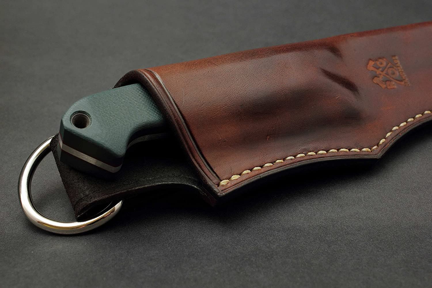 Handmade Custom Leather Sheath//Cover//Holster for the Benchmade Bushcrafter 162