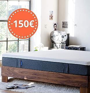 Emma Colchón 150x190 - Colchones visco de Espuma Cama Doble Memory Foam - Transpirable y máximo